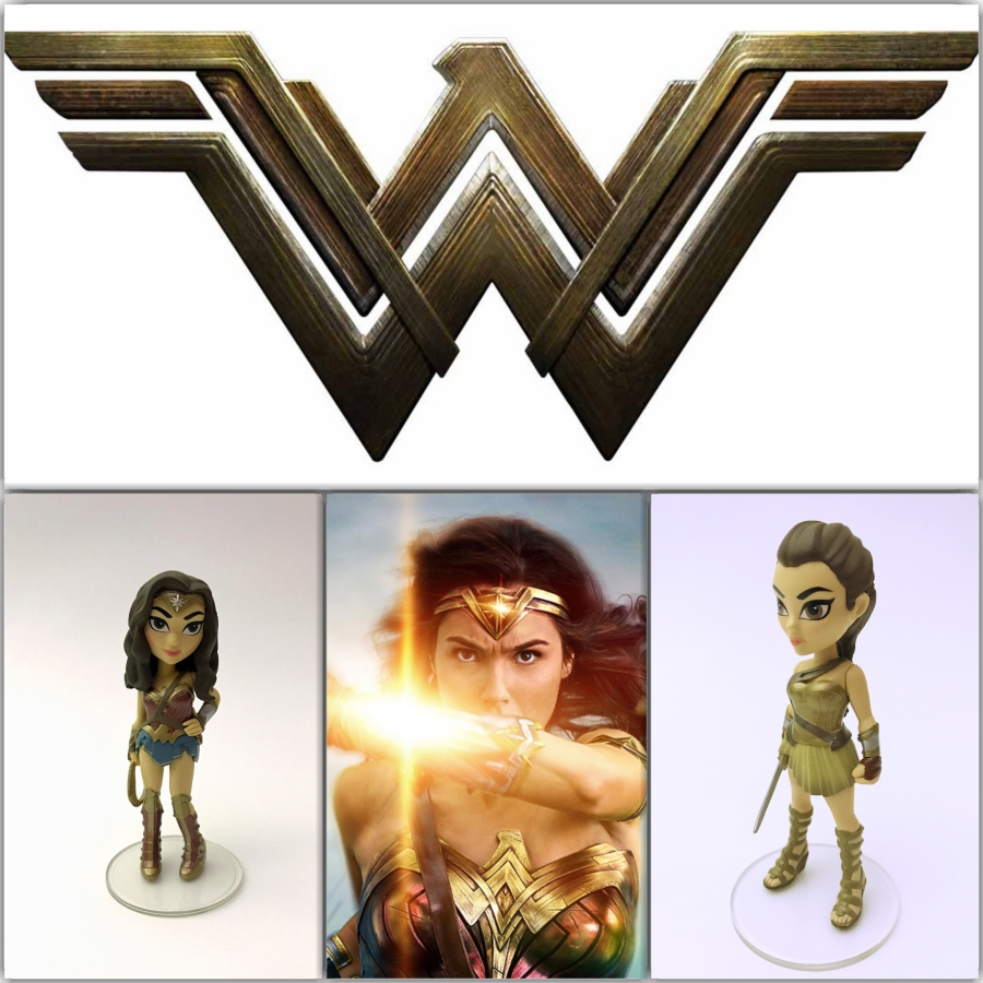 Figure Review: Wonder Woman Rock Candy