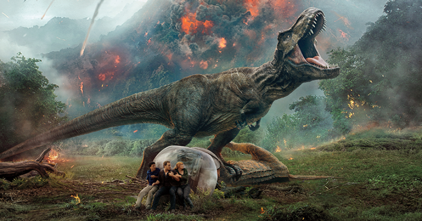 #Film Review: Jurassic World, Fallen Kingdom