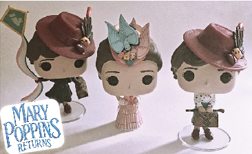 Funko Pop Review: Mary PoppinsReturns