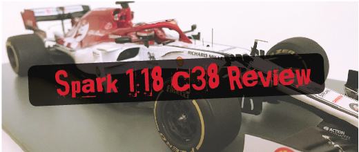 Review: Kimi Raikkonen Alfa Romeo C38, by Spark